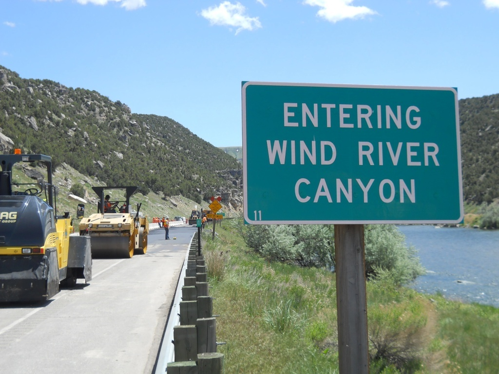 Wind River Canyon (WYDOT)