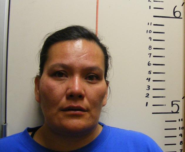Fawna Sanchez booking photo from the Fremont County Sheriff's Department.