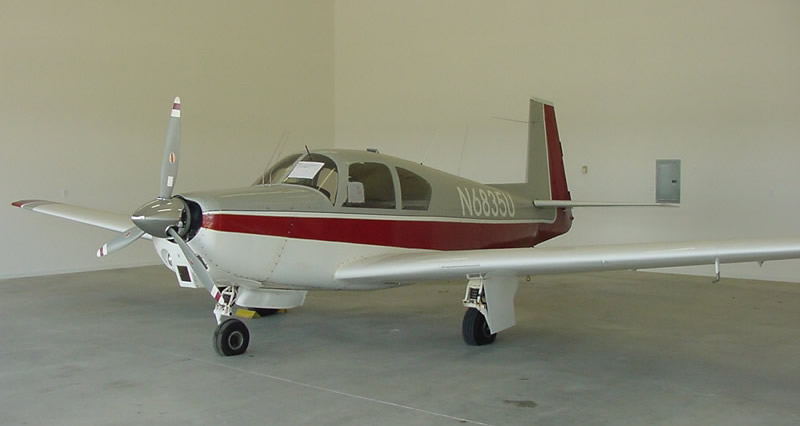 A sample photo of a 1963 Mooney M20C (not the actual missing aircraft). (Park County Sheriff's Department)