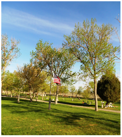 Lakeview Cemetery, Shoshoni, 2014 Memorial Day (David Manchester)