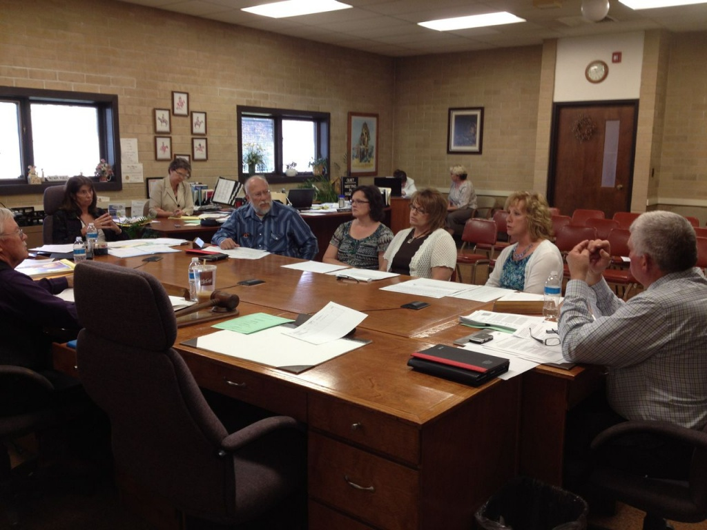 Elected officials talk salary adjustments with the Fremont County Commission.