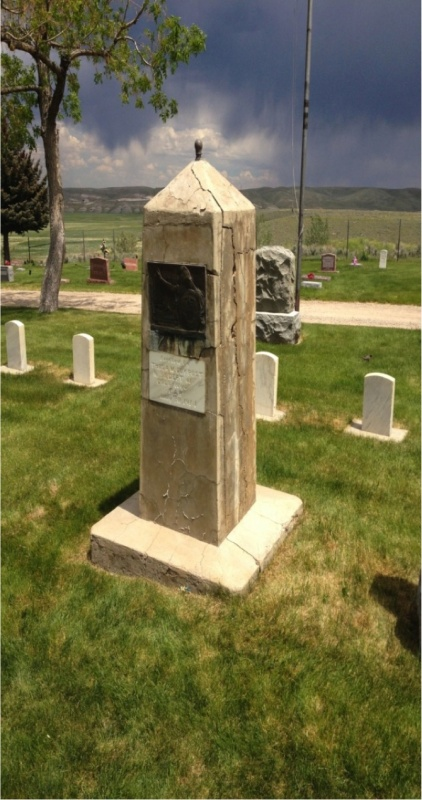 Spanish-American War Memorial at Mount Hope Cemetery. Photo provided.