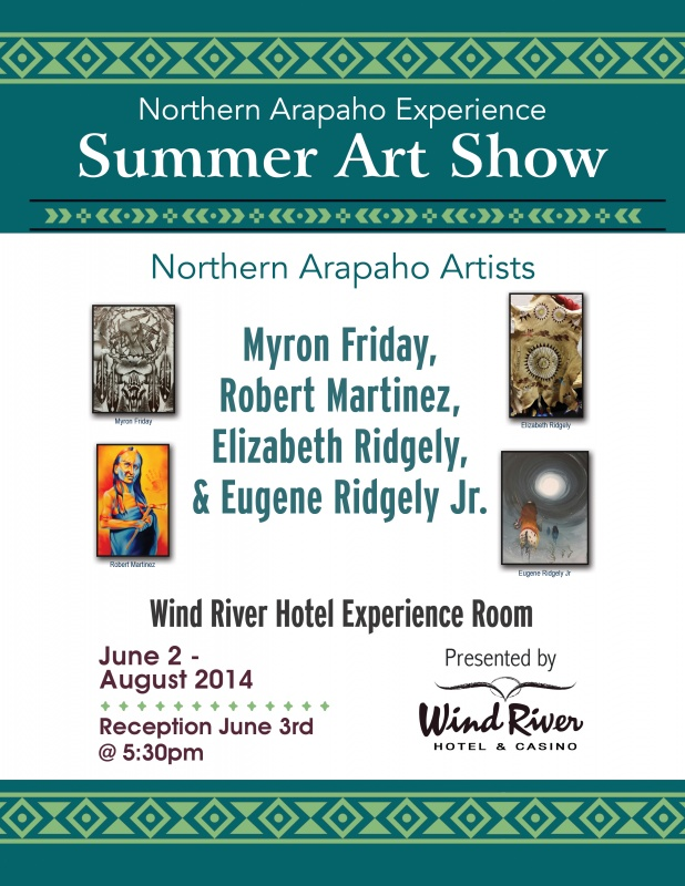 Arapaho Room - Summer flyer