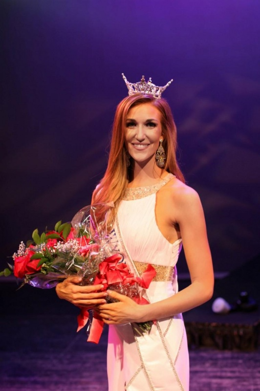 Jessie Allen, Miss Wyoming 2014. Photo provided by Miss Wyoming Scholarship Foundation.