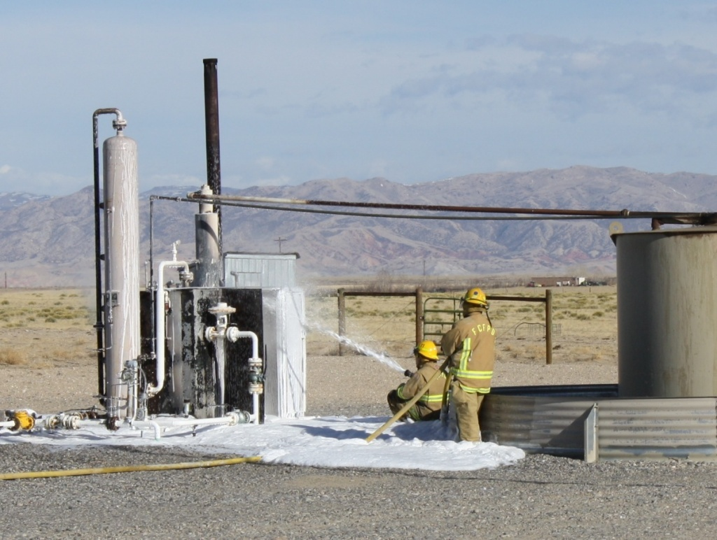 An incinerator fire was extinguished by North Portal Firefighters in November 2013 on Sand Mesa in this file photo.