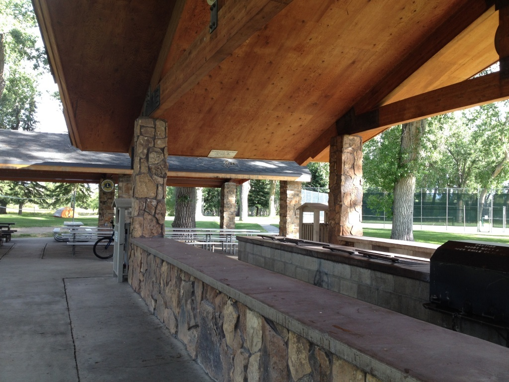 The Lion's Shelter at City Park is the location of Sunday's picnic.