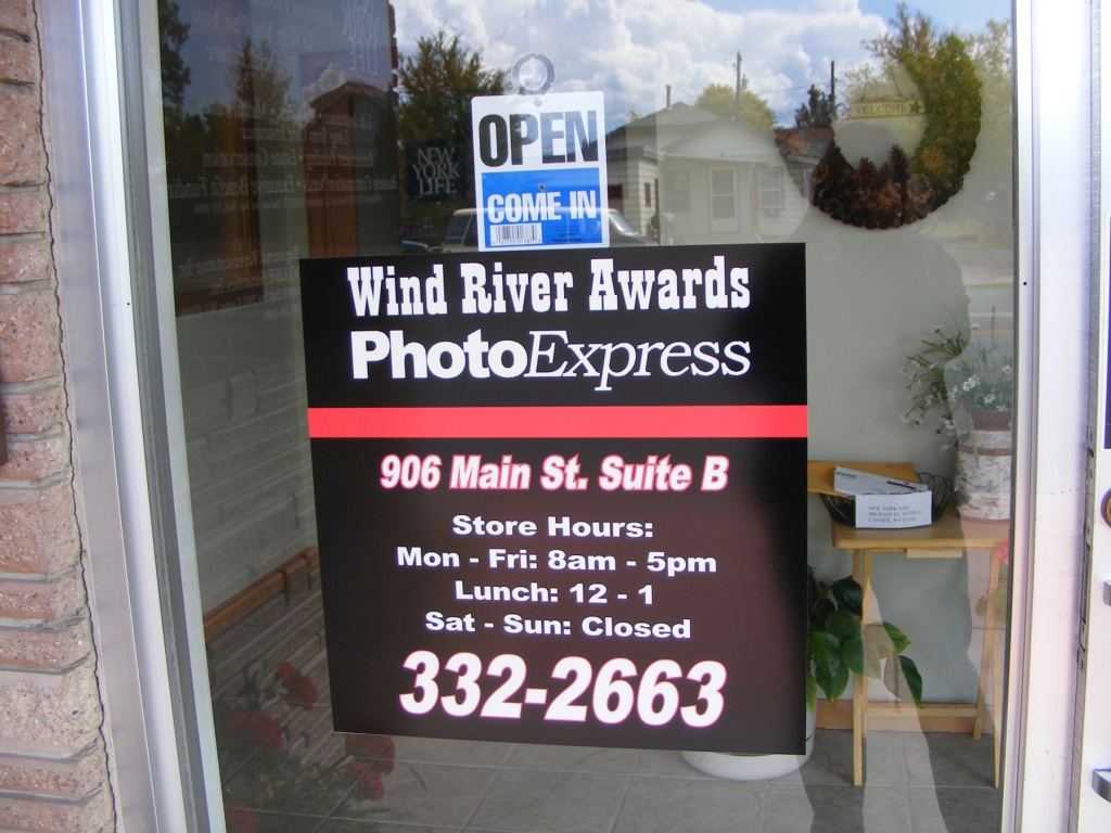 Wind River Awards & Photo Express FOR SALE!
