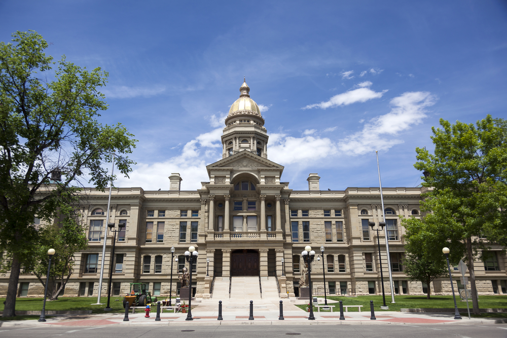 Wyoming State Capitol by David Gilder:Shutterstock.com