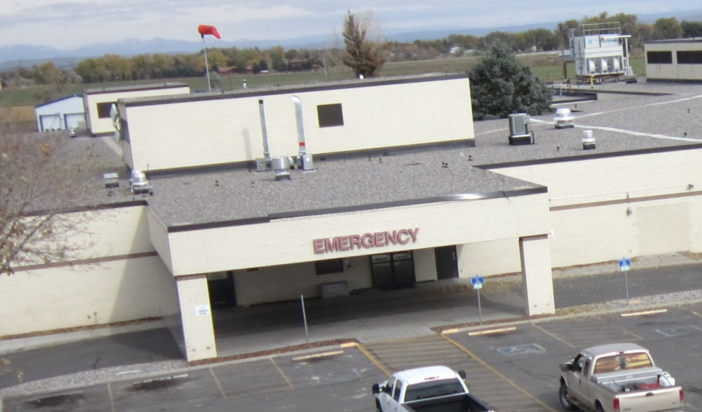 Emergency Room, SageWest Riverton (Ernie Over photo)