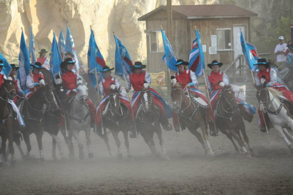 """Hosted by Dubois Main Street, the weekend's highlight will be a return by the """"Westernaires"""", a 50-member high speed equestrian drill team on Saturday night, July 26."""