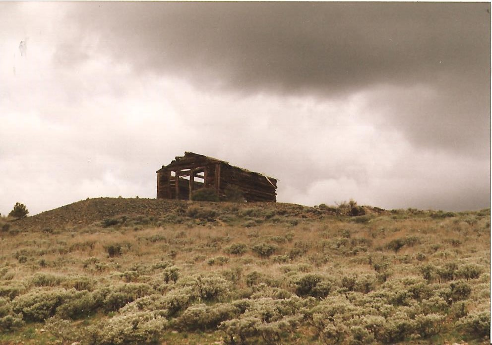 The remains of the Miner's Delight Mine. (From the collection of Jean Mathisen Haugen)
