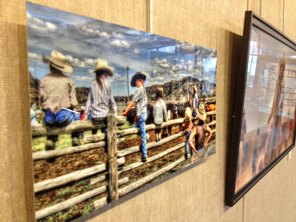 The digital photography of Jeffrey City Artist Vikki Correll is the featured exhibition this month at the Riverton Branch Library. (Ernie Over photo)