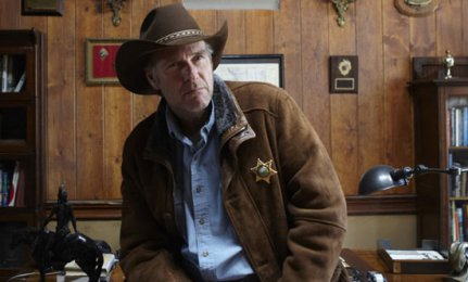 Sheriff Walt Longmire, played by Robert Taylor, will not return to A&E for a fourth season. A&E photo.