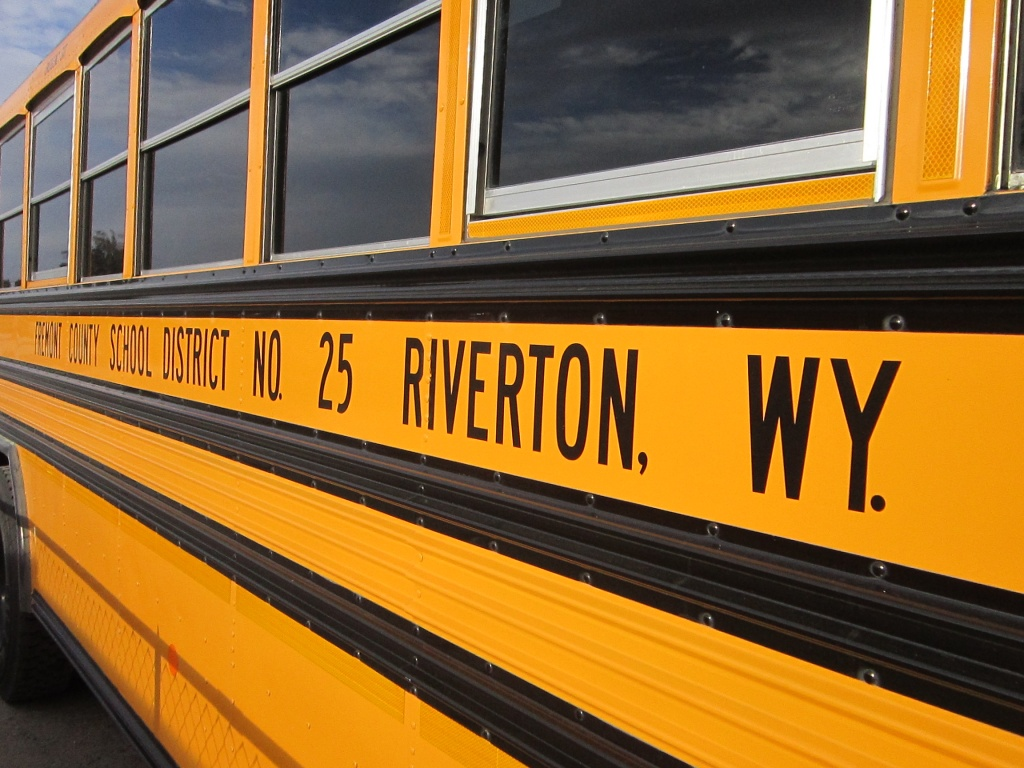 school bus - riverton