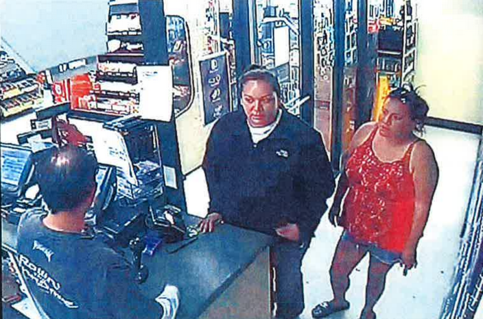 Here is the video surveillance capture of the two women shoplifters. If you know their identity, please call the Riverton Police at 856-4891.