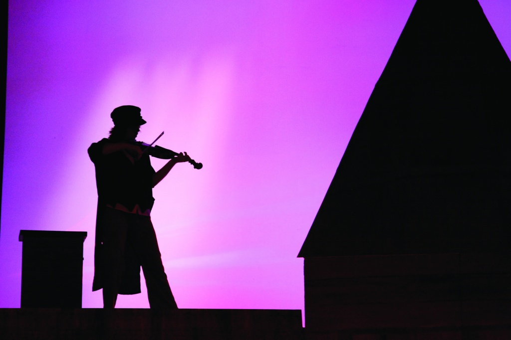 Fiddle on the Roof. Photo by Lonnie Slack.