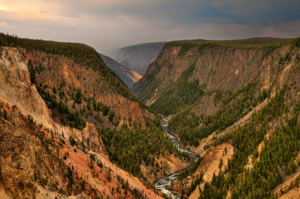 Yellowstone National Park's Grand Canyon. Photo by Sharon Day/shutterstock.