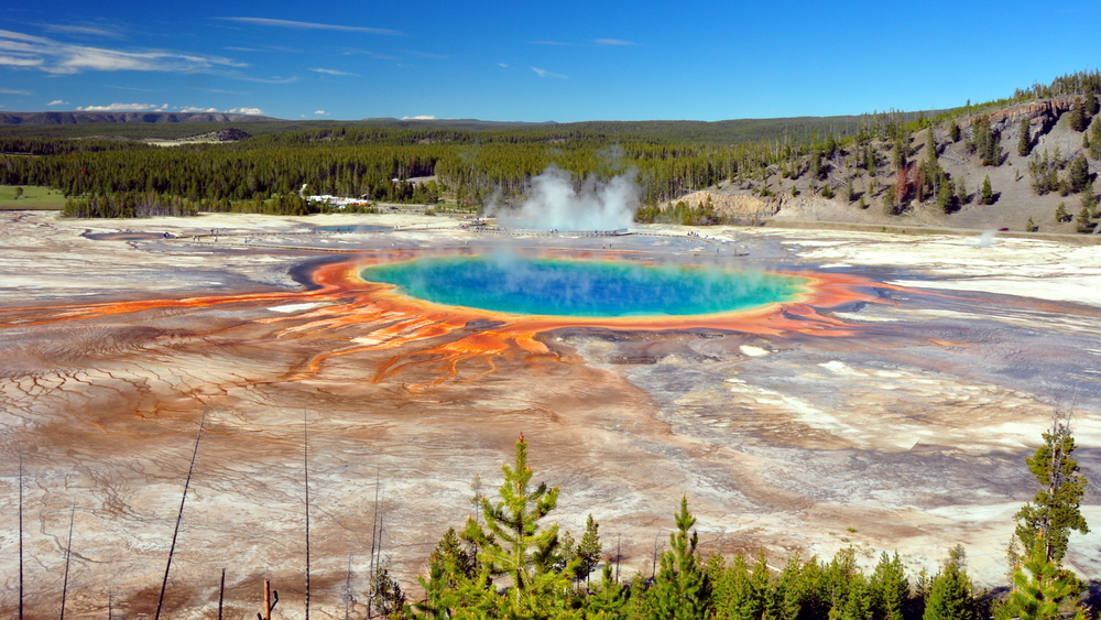 Grand Prismatic Spring. Photo by EastVillage Images/Shutterstock.