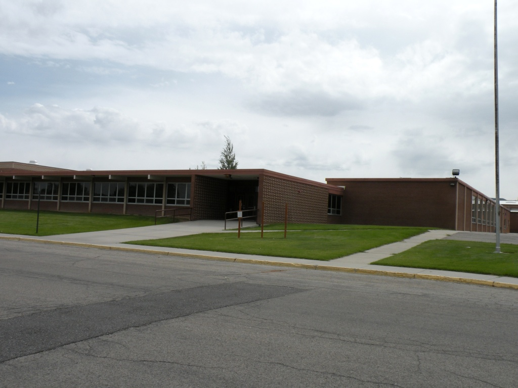 The old Starrett Junior High School building.