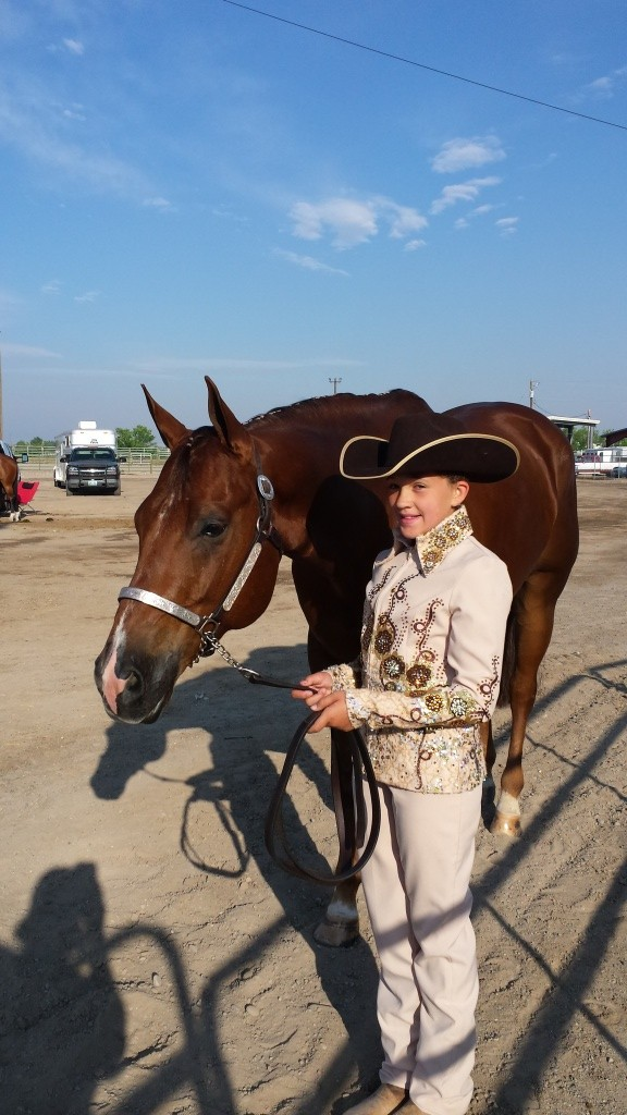 Kristin McPherson qualified for the AQHA Region 2 Championships at Rapid City this month.