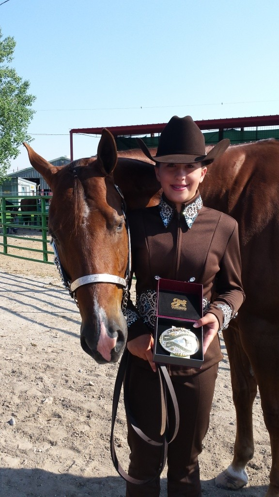 McKayla McPherson will compete in the AQHA Novice Championships in Las Vegas.