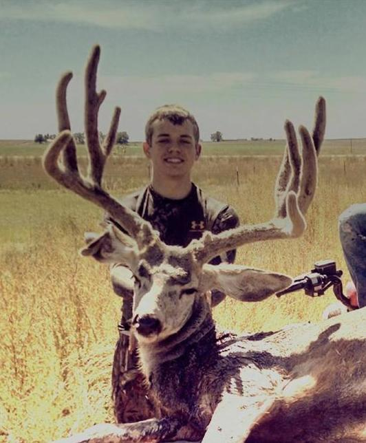 Blake Fegler's buck Scored 178 and 1/8 in the Pope & Young recored book. He harvested the deer with bow and arrow.