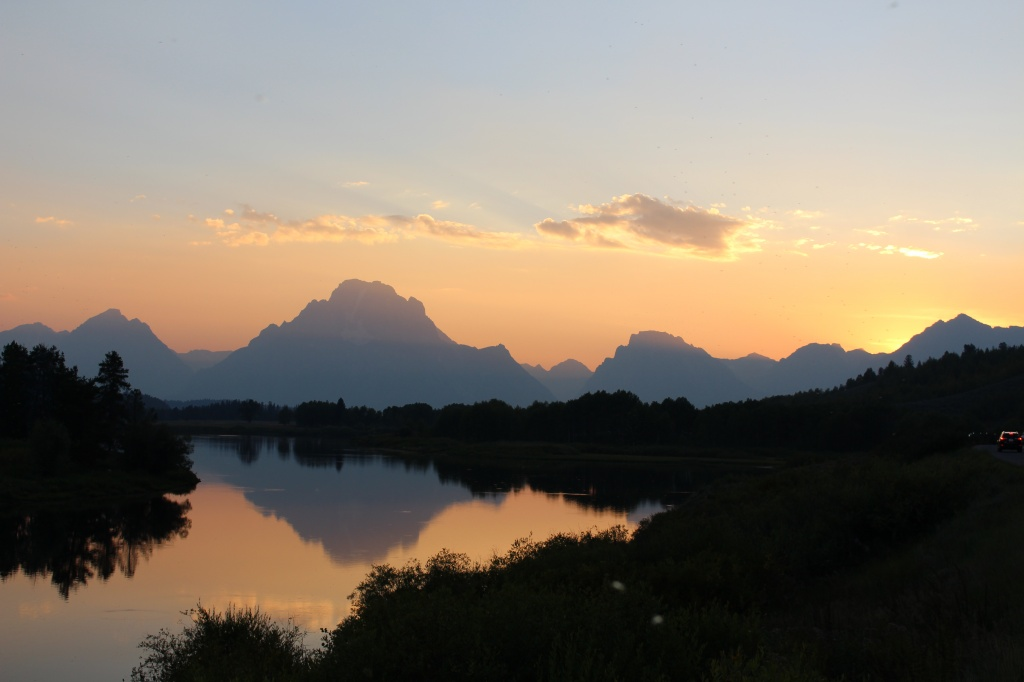 This Labor Day scene was photographed by FCSD#25 Superintendent Terry Snyder at the Oxbow Bend in GTNP.