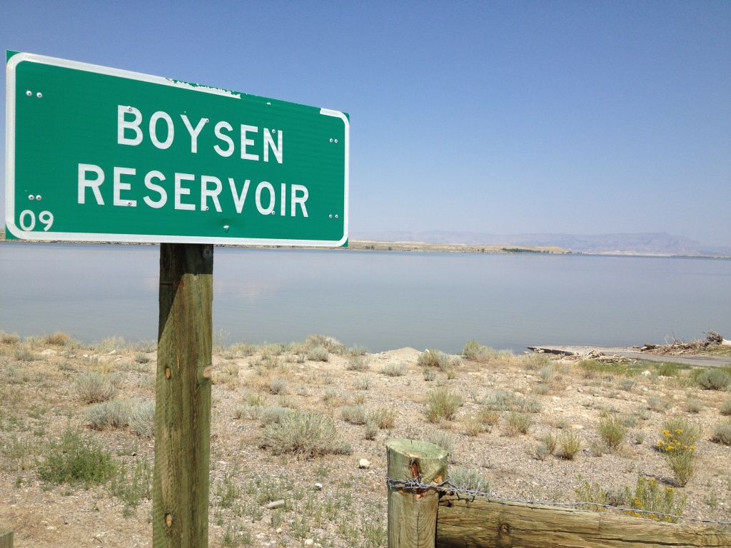 Boysen Reservoir - shoshoni side - eo