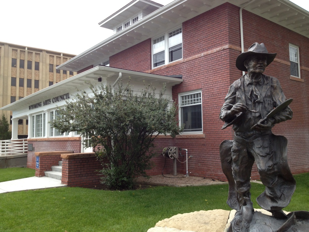 The Wyoming Arts Council Headquarters in Cheyenne.