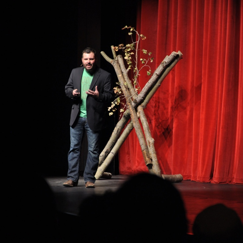 County10.com and PitchEngine CEO Jason Kintzler spoke at last year's TEDxCentralWyomingCollege.