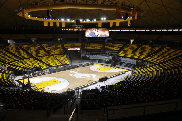The new look Arena Auditorium at the University of Wyoming.