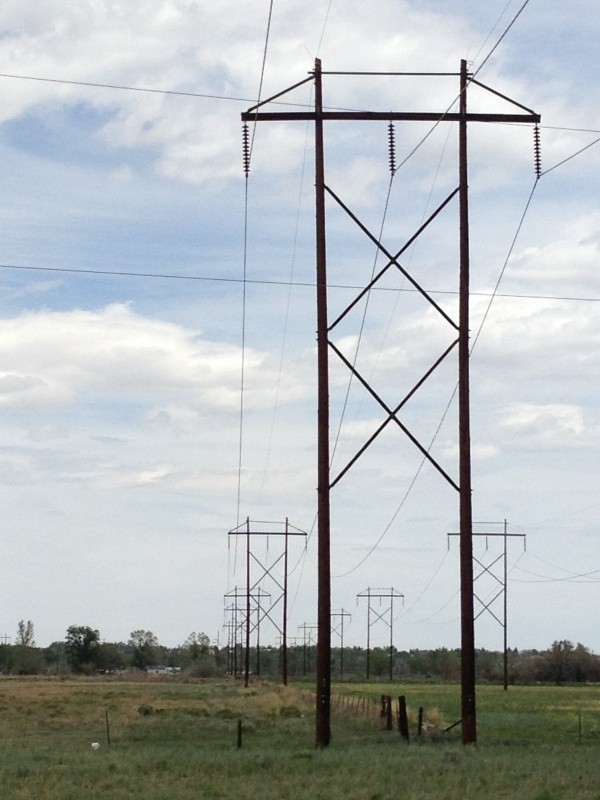 Power lines, Rocky Mountain Power (eo)