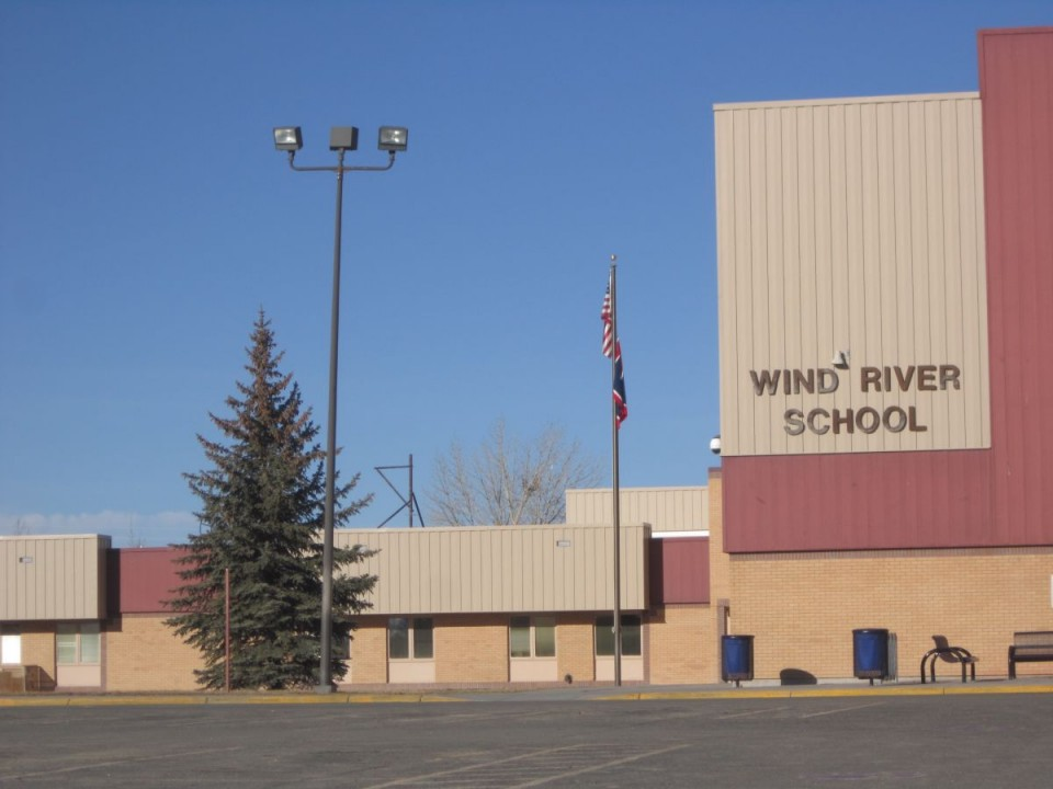 The Wind River Middle/High School at Pavillion.