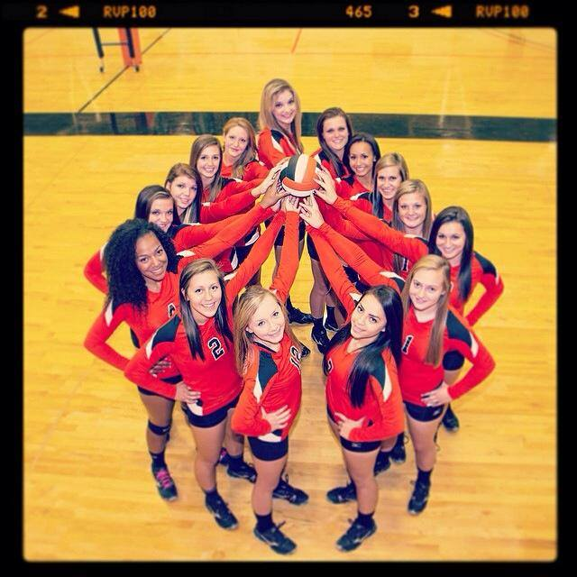 The CWC Rustlers Volleyball Team (CWC)