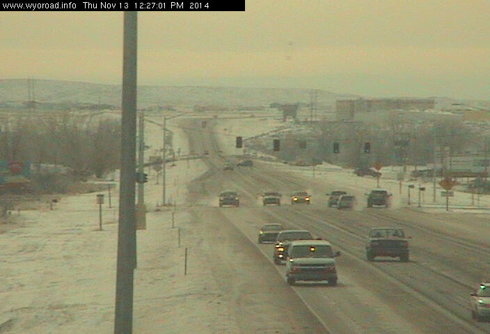 The Riverton South highway improvement project will clearly be visible by calling up the Wyoming 789 web camera at wyoroad.info  (WYDOT)