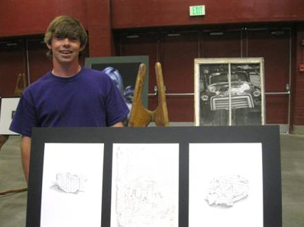 File photo of Joe McGowan from an art contest in 2012.