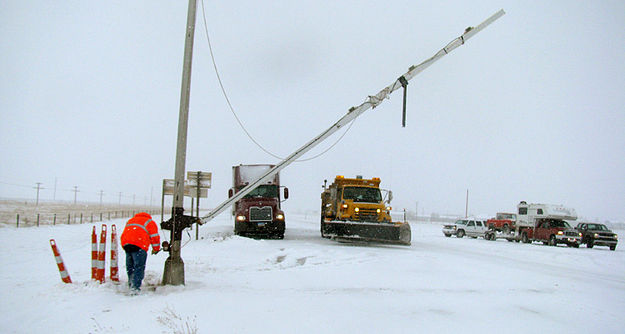 Winter weather forces early u s a seasonal closure