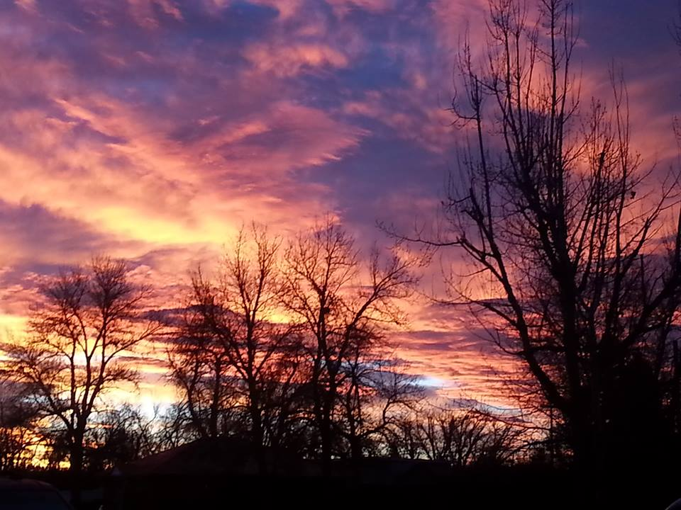 Friday's Sunset by Deana and Jim Anderson...