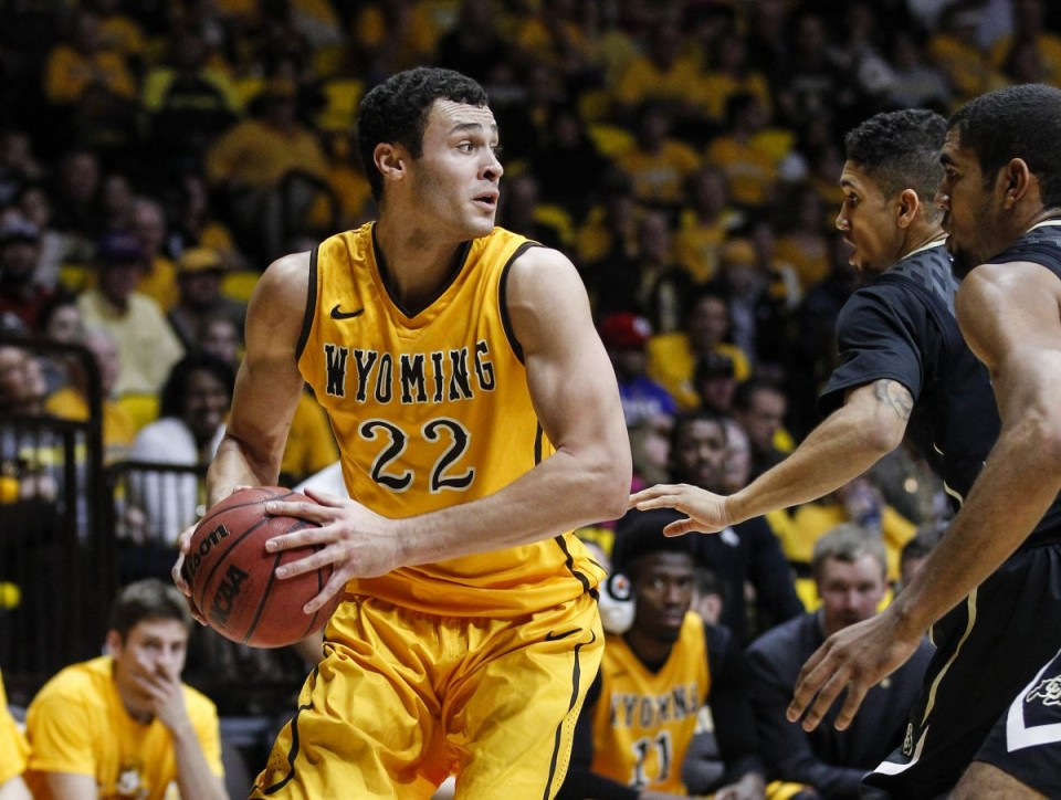 Larry Nance Jr. scored a game high 17 points against DU Tuesday night in Wyoming's 7th win of the season. (Wyoming Athletics photo by Troy Babbitt)