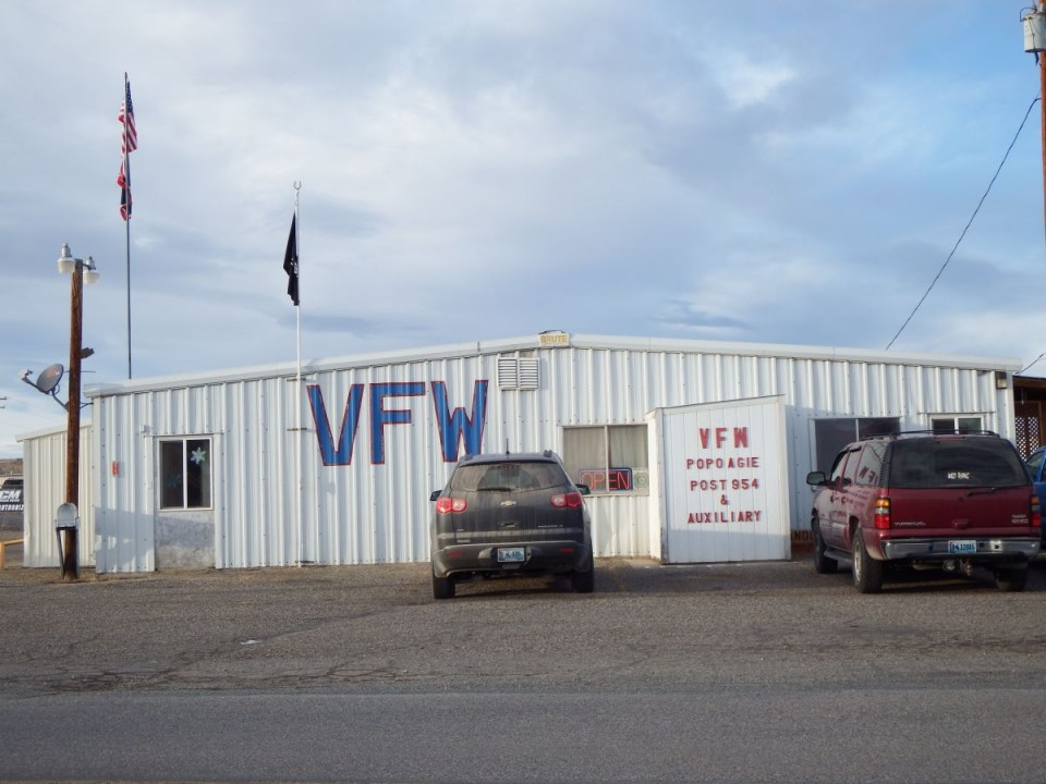 The Lander VFW Club on Tweed Lane.
