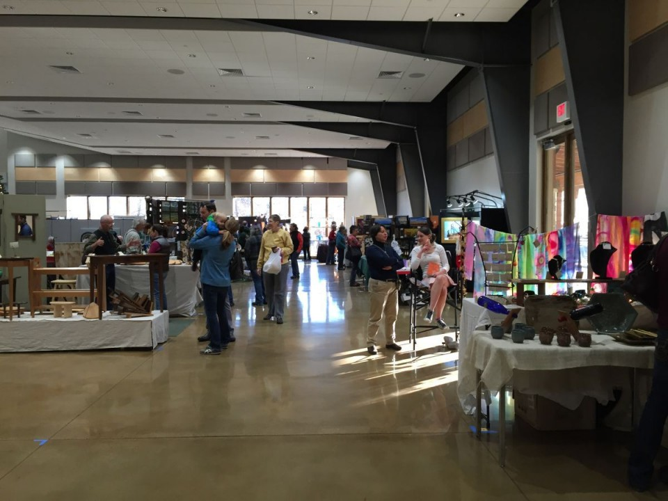 Last month's Art in the Afternoon at the Lander Community and Convention Center.