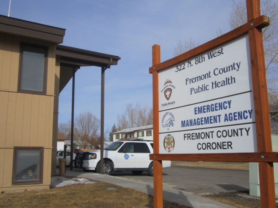 The Fremont County Coroner's Office in Riverton.